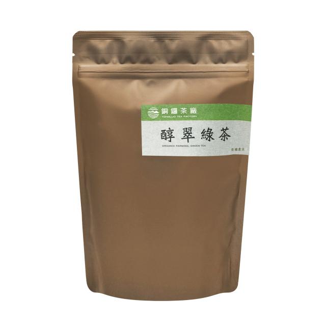 有機醇翠綠茶補充包 80g (手採)