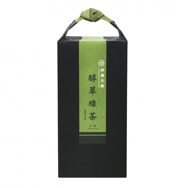 銅鑼-醇翠綠茶120g(手採)